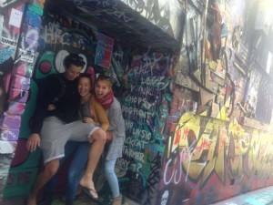 Spaß mit Josh und Jess
