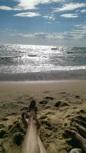 Geburtstag am Strand ... ätsch!!!!