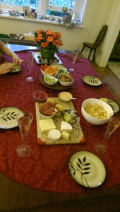 Die besagten Wine and Cheese Partys