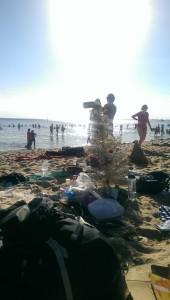 Einen Weihnachts-Bom gab es auch :D