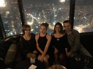 Hier war ich mit Jess, ihrer Schwester und ihrem Schwager in der Uli Bar im Rialto Tower (sehr empfehlenswert). Mit Blick über ganz Melbourne kann man es sich da oben bei Cocktails gut gehen lassen