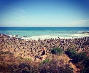 Völlig unerwartet haben wir diesen Steinmännchen Strand gefunden